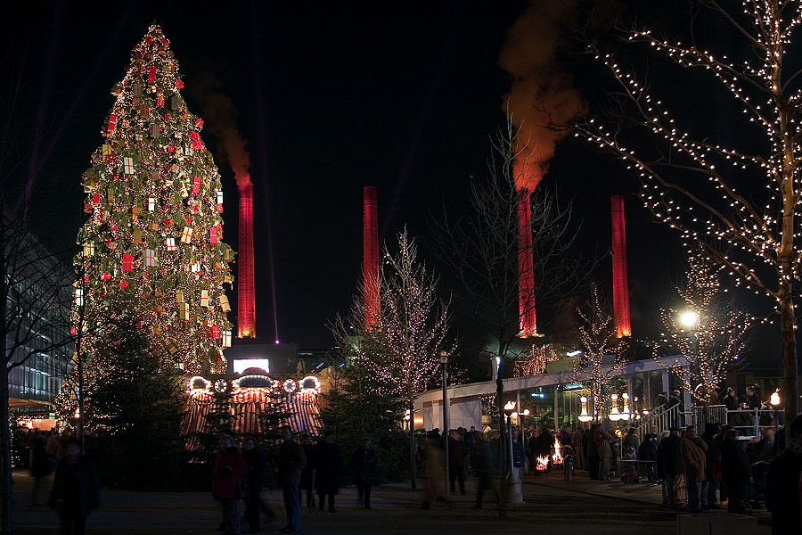 Weihnachtliche Autostadt Photoblog Iso200